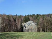 Φυσικό μνημείο - βράχοι ελεφάντων Στοκ φωτογραφία με δικαίωμα ελεύθερης χρήσης