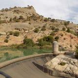 Φυσικό πάρκο της ardales-Ανδαλουσία-Ισπανίας Στοκ φωτογραφία με δικαίωμα ελεύθερης χρήσης
