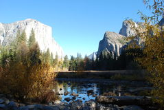 Φυσικό πάρκο Yosemite Στοκ Φωτογραφίες
