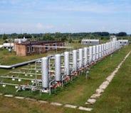 φυσικό πετρέλαιο βιομηχανίας φυσικού αερίου Στοκ φωτογραφία με δικαίωμα ελεύθερης χρήσης