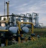 φυσικό πετρέλαιο βιομηχ&alp Στοκ Φωτογραφία