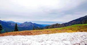 Φυσικό πολιτεία της Washington φύσης - κορυφογραμμή Klahhane, ολυμπιακό εθνικό πάρκο στοκ εικόνες