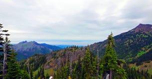 Φυσικό πολιτεία της Washington φύσης - κορυφογραμμή Klahhane, ολυμπιακό εθνικό πάρκο στοκ φωτογραφία