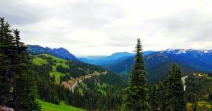 Φυσικό πολιτεία της Washington φύσης - κορυφογραμμή Klahhane, ολυμπιακό εθνικό πάρκο στοκ εικόνα με δικαίωμα ελεύθερης χρήσης
