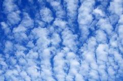 φυσικό πρότυπο σύννεφων Στοκ εικόνες με δικαίωμα ελεύθερης χρήσης