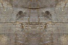 Φυσικό πλάσμα προσώπου στο παλαιό ξύλινο υπόβαθρο σανίδων Στοκ Φωτογραφίες