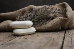 φυσικό σαπούνι Στοκ εικόνα με δικαίωμα ελεύθερης χρήσης