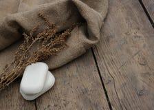 φυσικό σαπούνι Στοκ φωτογραφία με δικαίωμα ελεύθερης χρήσης