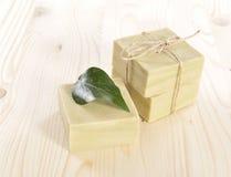Φυσικό σαπούνι Aromatherapy σε μια SPA Στοκ Φωτογραφία
