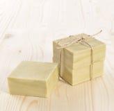 Φυσικό σαπούνι Aromatherapy σε μια SPA Στοκ εικόνες με δικαίωμα ελεύθερης χρήσης