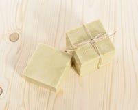 Φυσικό σαπούνι Aromatherapy σε μια SPA Στοκ Φωτογραφίες