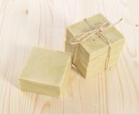Φυσικό σαπούνι Aromatherapy σε μια SPA Στοκ Εικόνες