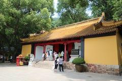 Φυσικό σημείο langshan σε Nantong, επαρχία Jiangsu, Κίνα Στοκ Εικόνες