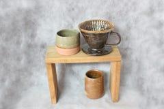 Φυσικό σύνολο σταλαγματιάς καφέ στοκ φωτογραφία με δικαίωμα ελεύθερης χρήσης