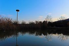 Φυσικό τοπίο από Rupite, Βουλγαρία σε ένα μέρος του συγκροτήματος στοκ εικόνα