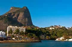 Φυσικό τοπίο Ρίο ντε Τζανέιρο Στοκ φωτογραφία με δικαίωμα ελεύθερης χρήσης