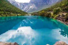 Φυσικό τοπίο της Κίνας Στοκ φωτογραφία με δικαίωμα ελεύθερης χρήσης