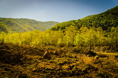 Φυσικό τοπίο της χώρας Τουρκία Στοκ φωτογραφία με δικαίωμα ελεύθερης χρήσης