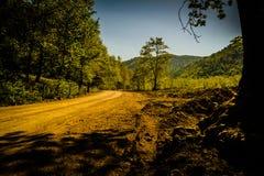 Φυσικό τοπίο της χώρας Τουρκία Στοκ εικόνες με δικαίωμα ελεύθερης χρήσης
