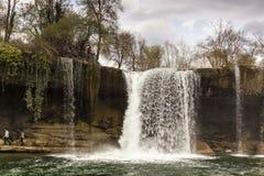 Φυσικό τοπίο, τομείς Frias στο Burgos, Καστίλλη Υ Leà ³ ν Ισπανία στοκ φωτογραφίες