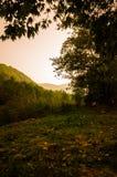 Φυσικό τοπίο φθινοπώρου Στοκ Φωτογραφίες