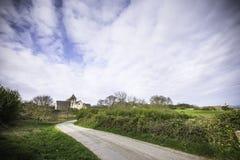 Φυσικό τοπίο Anglesey την άνοιξη, βόρεια Ουαλία, UK Στοκ εικόνα με δικαίωμα ελεύθερης χρήσης