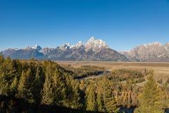 Φυσικό τοπίο Teton Στοκ Εικόνες