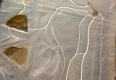 Φυσικό υπόβαθρο κρυστάλλου πάγου παγωμένο Στοκ εικόνα με δικαίωμα ελεύθερης χρήσης