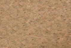 Φυσικό υπόβαθρο πετρών, μπεζ λαβύρινθος διακοσμήσεων βάσεων στην επιφάνεια του καμβά, αγροτικό έγγραφο στοκ φωτογραφίες