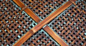 Φυσικό υπόβαθρο σύστασης σχαρών αχύρου πλεκτό ίνες Στοκ φωτογραφίες με δικαίωμα ελεύθερης χρήσης