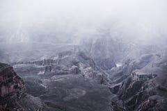 Φυσικό χειμερινό μεγάλο φαράγγι Στοκ φωτογραφία με δικαίωμα ελεύθερης χρήσης