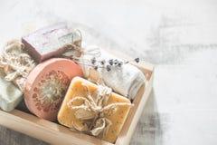 Φυσικό soap spa Στοκ φωτογραφία με δικαίωμα ελεύθερης χρήσης