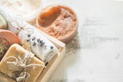 Φυσικό soap spa Στοκ Εικόνα