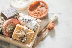 Φυσικό soap spa Στοκ εικόνες με δικαίωμα ελεύθερης χρήσης
