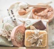 Φυσικό soap spa Στοκ Εικόνες