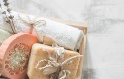 Φυσικό soap spa Στοκ Φωτογραφίες