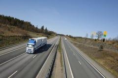 φυσικό truck εθνικών οδών Στοκ Φωτογραφίες