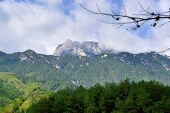Φυσιογνωμία του βουνού Tianzhu, επαρχία AnHui, Κίνα Στοκ Φωτογραφία