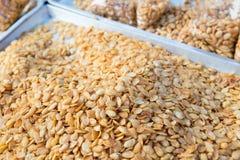 Φυστίκια στην ασιατική αγορά οδών Στοκ Εικόνες