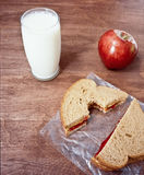 φυστίκι βουτύρου γάλακτος Στοκ φωτογραφία με δικαίωμα ελεύθερης χρήσης