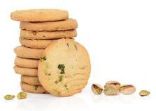 φυστίκι καρυδιών μπισκότων Στοκ Εικόνα