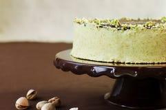 φυστίκι σοκολάτας κέικ Στοκ εικόνες με δικαίωμα ελεύθερης χρήσης