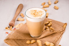 Φυστίκι latte Στοκ εικόνα με δικαίωμα ελεύθερης χρήσης