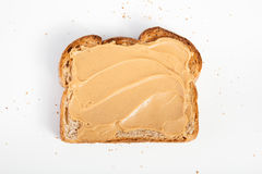 Φυστικοβούτυρο toats Στοκ φωτογραφίες με δικαίωμα ελεύθερης χρήσης