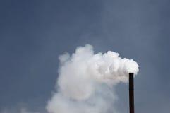φυσώντας εργοστάσιο του CO2 καπνοδόχων Στοκ Εικόνες