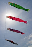 φυσώντας ιαπωνικός αέρας nob Στοκ εικόνες με δικαίωμα ελεύθερης χρήσης