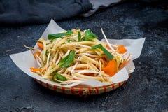 Φυτικά βιετναμέζικα τρόφιμα σαλάτας Στοκ Φωτογραφία