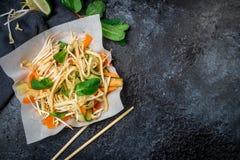 Φυτικά βιετναμέζικα τρόφιμα σαλάτας Στοκ εικόνες με δικαίωμα ελεύθερης χρήσης