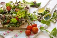 Φυτικά πράσινα σαλάτας Στοκ εικόνα με δικαίωμα ελεύθερης χρήσης