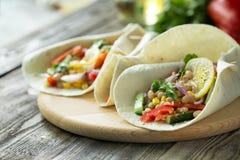 Φυτικά tacos Στοκ εικόνες με δικαίωμα ελεύθερης χρήσης